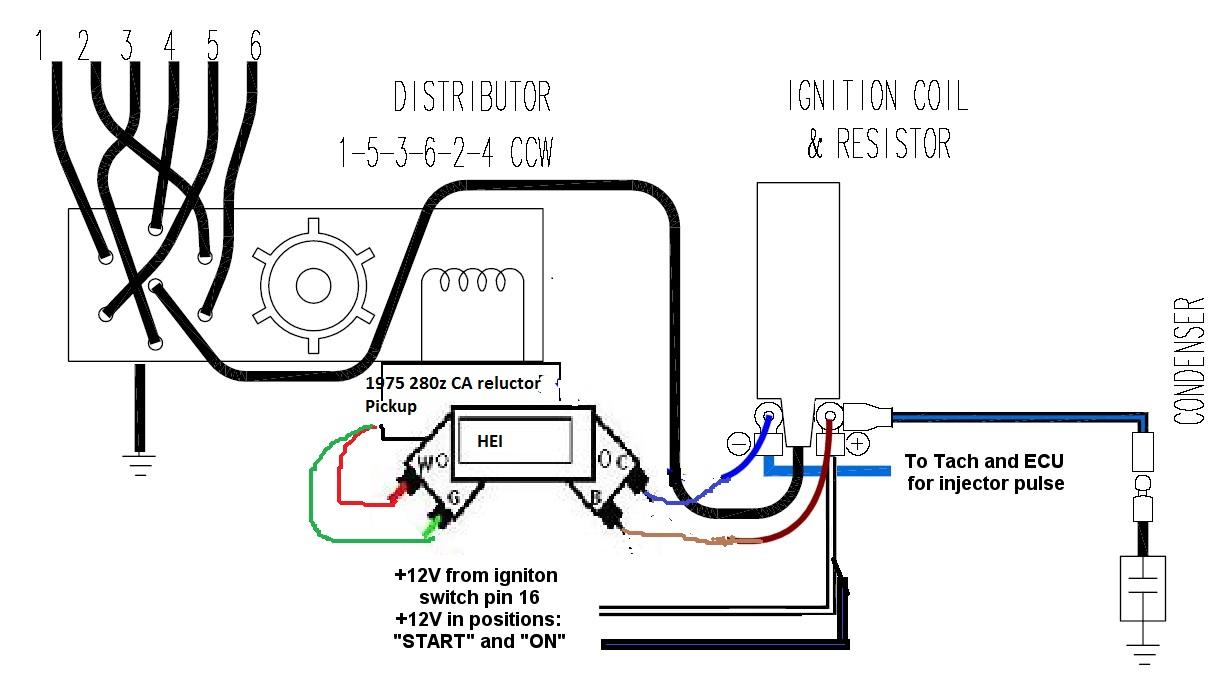 280z Alternator Wiring Diagram Diagrams 1978 Datsun 1976 280zx